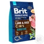 Brit Premium Lamb Dry Food For Dogs With Sensitive Digestion 3kg