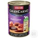 Food Animonda with lambs for dogs 800g