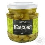 Vegetables kidney bean Novus Private import canned 460g glass jar