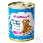 Food Leopold poultry for dogs 360g