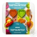 Печиво здобне пісочно-виїмкове Тарталетки різнокольорове сердечки 150г