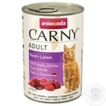 Food Animonda with lambs canned for cats 400g