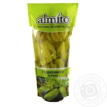 Перец Almito Пепперончини зеленый средней остроты 250г