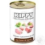 Консерва для собак KIPPY паштет з кусочками м`яса ягняти 4