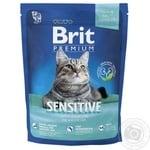 Корм сухий Brit Premium Cat Sensitive 1,5кг