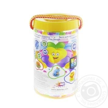 Набір тіста для ліплення в тубусі ОКТО 6 кольорів - купить, цены на Novus - фото 1