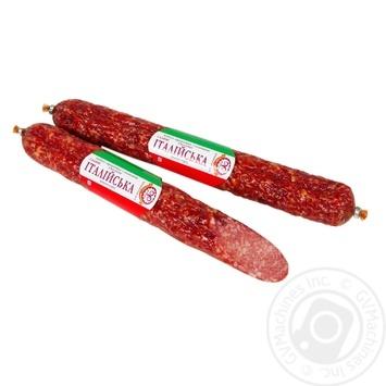 Farro Salami Sausage Italian top-smoked smoked - buy, prices for Furshet - image 1