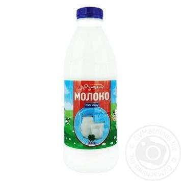 Молоко Фуршет пастеризованное 2,5% 900г - купить, цены на Фуршет - фото 1