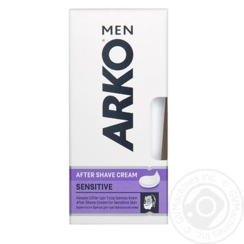 Крем після гоління ARKO Extra Sensitive 50мл - купити, ціни на Novus - фото 1