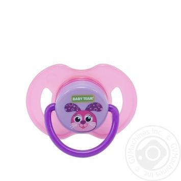 Пустушка латексна ортодонтична Baby Team арт.3200 - купить, цены на Novus - фото 2