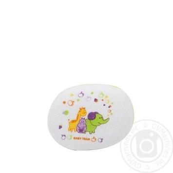 Детская мочалка-губка Baby Team - купить, цены на Метро - фото 3