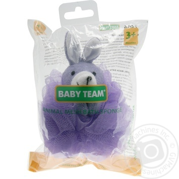 Детская мочалка-зверек Baby Team - купить, цены на Таврия В - фото 2