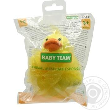 Детская мочалка-зверек Baby Team - купить, цены на Таврия В - фото 1