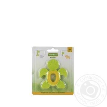 Прорізувач Черепашка/Котик Baby Team - купить, цены на Novus - фото 2