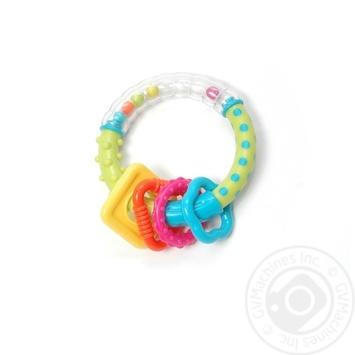 Игрушка-погремушка Baby Team Чудо-кольцо - купить, цены на Novus - фото 2