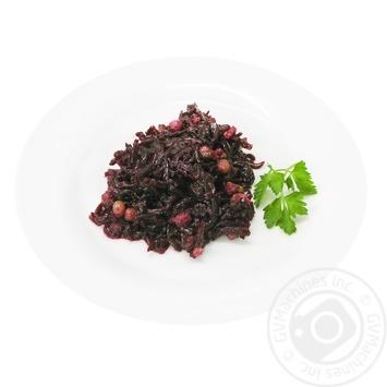 Салат из свеклы с орехами - купить, цены на Фуршет - фото 1