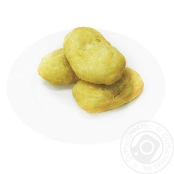 Пирожки жареные с капустой - купить, цены на Фуршет - фото 1