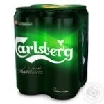 Пиво Carlsberg ж/б 5% 4*0,5л - купить, цены на Таврия В - фото 1