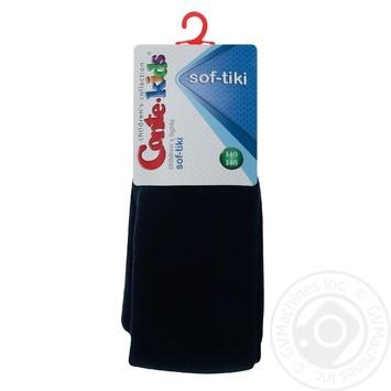 Колготки Conte Kids Sof-Tiki детские хлопковые темно-синие 140-146р