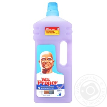 Засіб миючий Mr. Proper Лавандовий спокій 1,5л - купити, ціни на Метро - фото 1