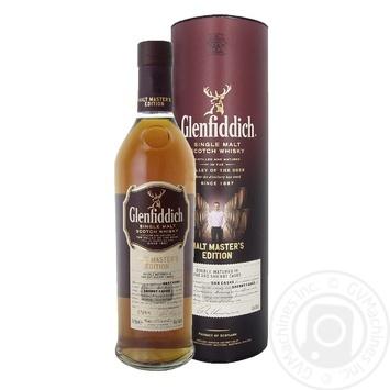 Виски Glenfiddich Malt Master 12 лет 43% 0,7л - купить, цены на МегаМаркет - фото 1