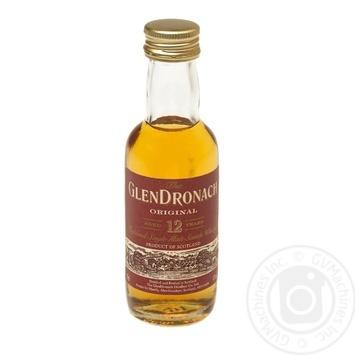 Glen Dronach Whiskey 12 years 43% 0,05l - buy, prices for CityMarket - photo 1