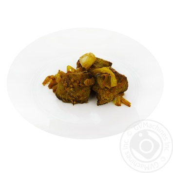 Liver fried with onions - buy, prices for Furshet - image 1