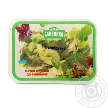 Смесь для салата Славянка Итальянский 140г - купить, цены на Фуршет - фото 1
