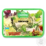 Смесь для салата Славянка Премиум мытый 140г - купить, цены на Фуршет - фото 1