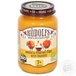 Puree Rudolfs pumpkin yogurt for children 190g