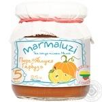 Marmaluzi Apple Pumpkin Puree From 5 Months 125g