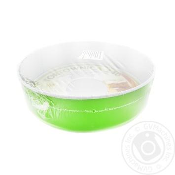 Форма для тортів  з непригарним покриттям Нон-стик з 1 гофрированим  дном SNB 240мм - купить, цены на Novus - фото 1