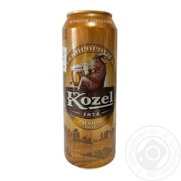 Пиво Kozel Premium Lager світле фільтроване 4,6% 0,5л - купити, ціни на МегаМаркет - фото 1