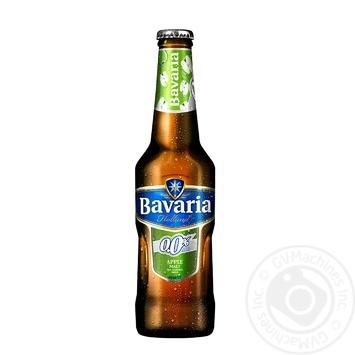 Пиво Bavaria Apple 0% 0,33л Нидерланды - купить, цены на Метро - фото 1