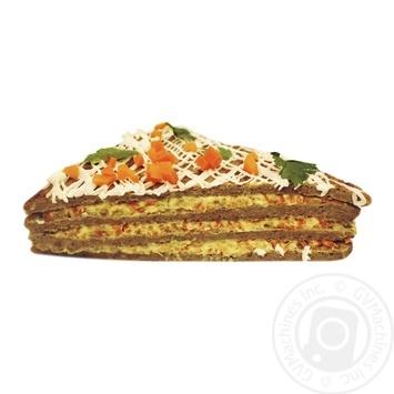 Торт печеночный - купить, цены на Фуршет - фото 1
