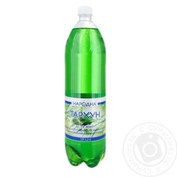 Напиток б/а Тархун Народная 1.5л - купить, цены на Фуршет - фото 1
