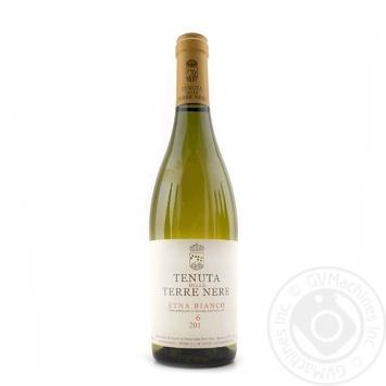 Вино Terre Nere Etna Bianco белое сухое 12,5% 0,75л - купить, цены на Novus - фото 1