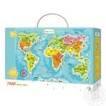 Пазл DoDo Мапа Світу 100елементів