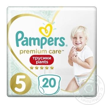 Pampers Premium Care Diaper Panties 5 Junior diaper pants 12-17 kg 20 pcs