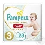 Pampers Premium Care Pants Panties 3 Midi diaper 6-11kg 28pcs