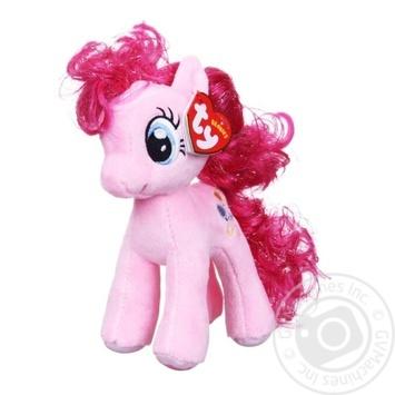 Игрушка TY My Little Pony мягкая брелок 1шт