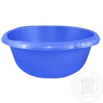 Таз Алеана Євро круглий 5л кольори в асортименті - купити, ціни на Ашан - фото 2