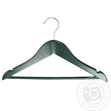 Вiшалка підліткова зелена 10мм товщ. арт.RE09483 - купити, ціни на МегаМаркет - фото 1