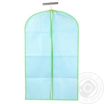 Чохол для одягу блакитний 60*135 см, ТМ МД UC09982 - купити, ціни на МегаМаркет - фото 1