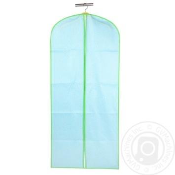 Чохол для одягу блакитний 100*60 см, ТМ МД UC09983 - купити, ціни на МегаМаркет - фото 1
