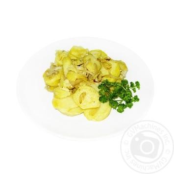 Картопля смажена з цибулею - купити, ціни на МегаМаркет - фото 1