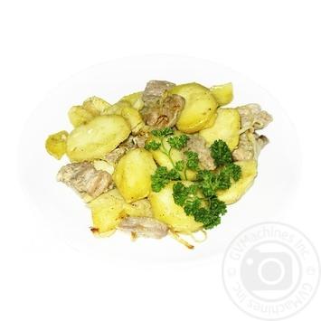 Картопля смажена з підчеревиною - купити, ціни на МегаМаркет - фото 1