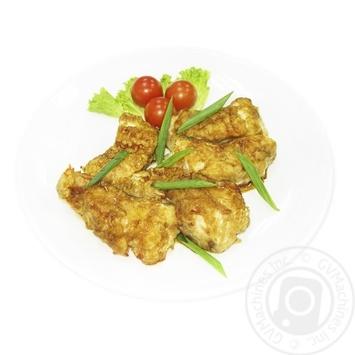 Рыба жареная с соусом Терияки - купить, цены на МегаМаркет - фото 1