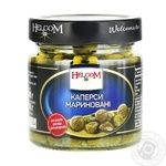 Vegetables capers Helcom pickled 225ml glass jar