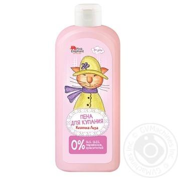 Пена для ванн Pink Elephant Кошечка Лиза 500мл